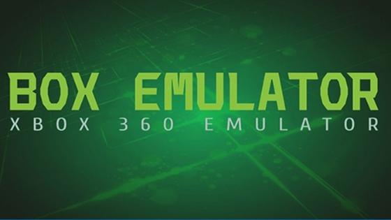 BOX xbox 360 emulator