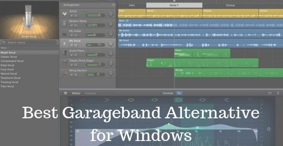 Best Garageband Alternative for Windows