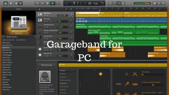 Garageband for PC