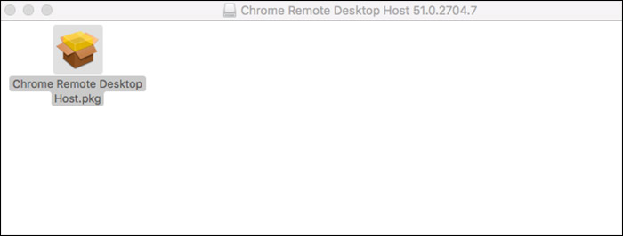 Install Chrome Remote Desktop Host on Mac