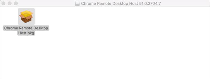 Install Chrome Remote Desktop Host on Mac