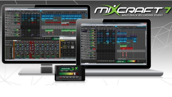 MIXCRAFT 7 Garageband alternative for windows