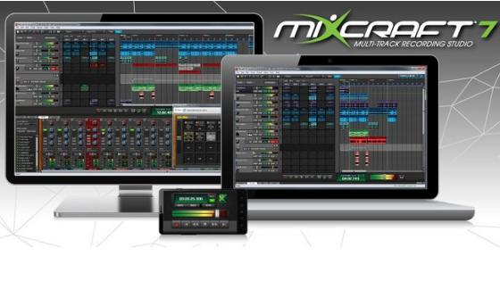 MIXCRAFT 7 Garageband alternative for windows