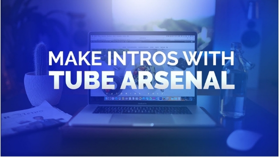 Tube Arsenal free intro maker for youtube