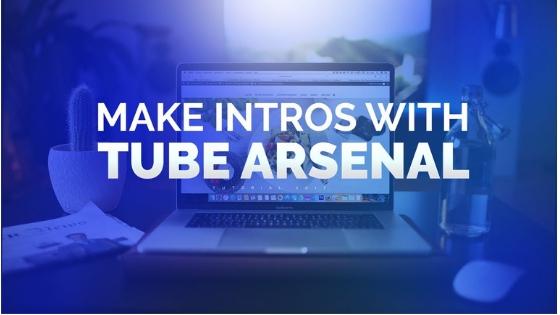 Tube Arsenal free intro maker for youtube