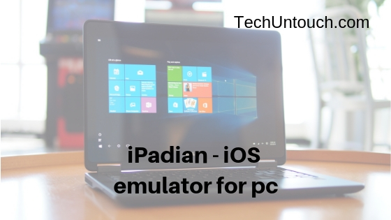iPadian - iOS emulator for pc