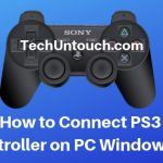 Connect PS3 Controller on PC Windows 10