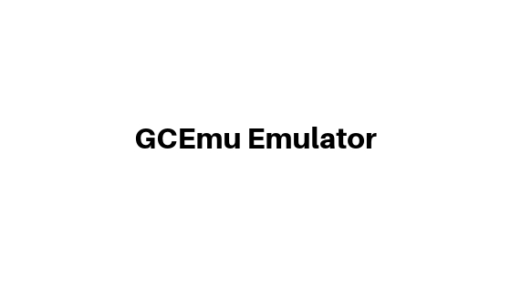 GCEmu Emulator for gamecube