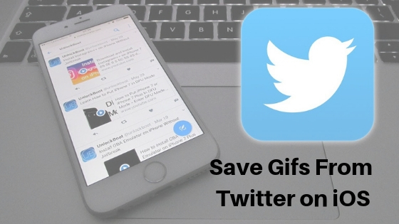 Save Gifs From Twitter on iOS