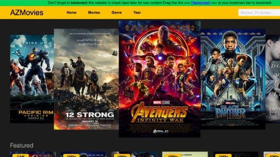 AZMovies - Free Movie Streaming Site with no Sign Up