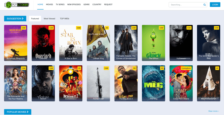 Putlocker 123movies alternative
