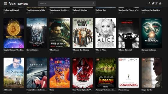 VexMovies - Best Free Movie Streaming Sites