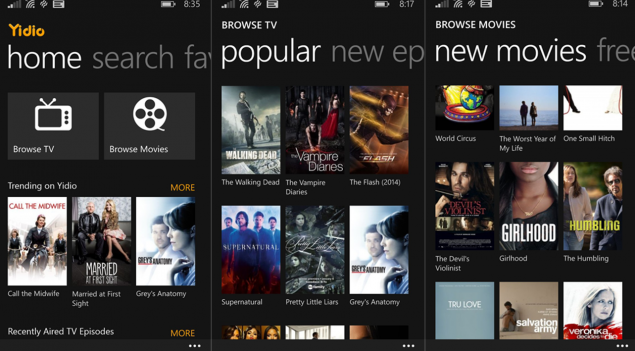 Yidio watch tv shows online free