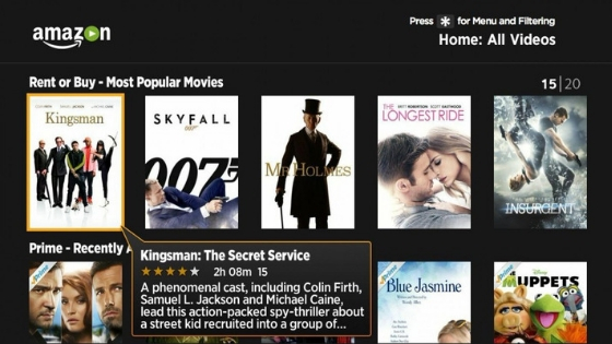 Amazon Prime Video - free movie streaming site without downloading