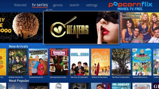Popcornflix - free unblocked movies