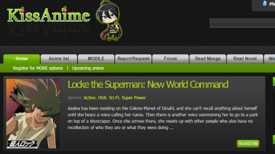 kissanime - Free Anime Streaming Sites