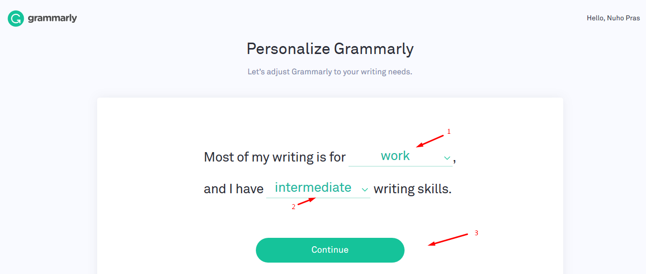 strategic department of Grammarly Premium Account