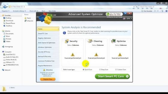 Advanced System Optimizer Best Free PC Cleaner