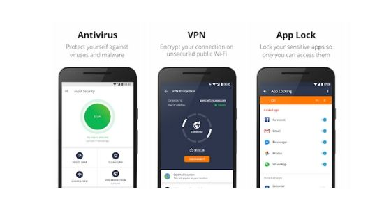 Avast Antivirus App for Android