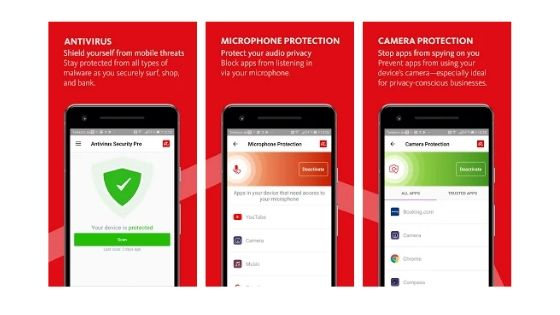 Avira Best Antivirus for Android Smartphones