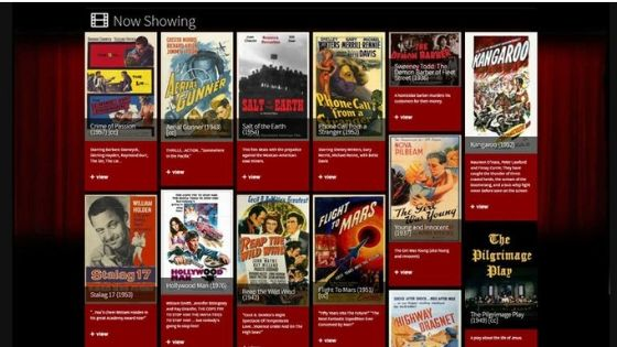 Classic Cinema Online - my project free tv