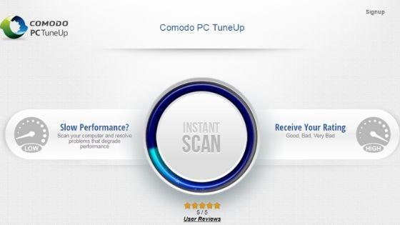 Comodo PC TuneUp Free PC Cleaner