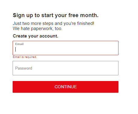 Create Netflix Premium Account