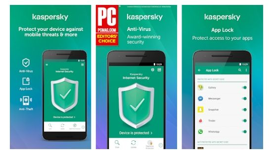 Kaspersky Best Antivirus for Android