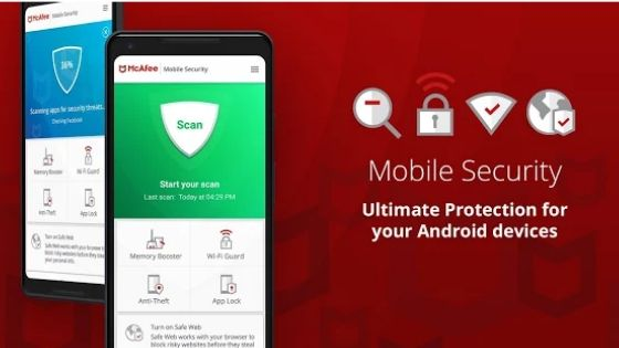 MaAfee Free Antivirus for Android