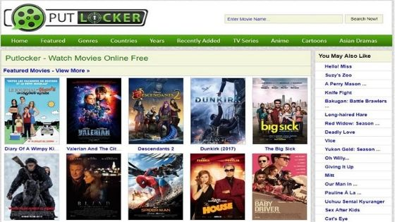 PutLocker - Free Movie Streaming Sites