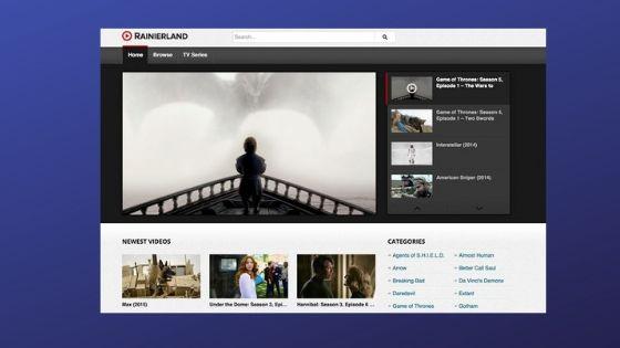 RainierLand - Free Movie Streaming Sites