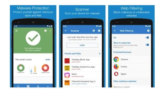 Sophos Best Android Antivirus App