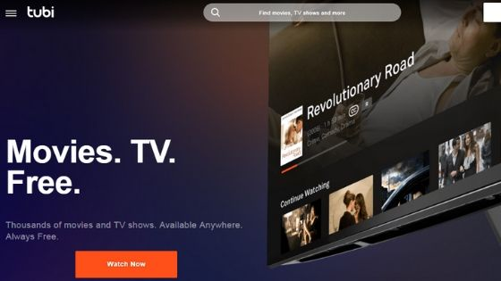 TubiTV - Best CouchTuner Alternative