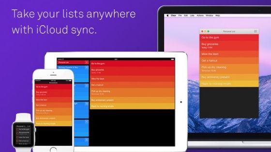 Clear - Best Task Manager for Mac