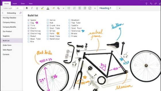 Microsoft OneNote - Best Task Manager for Mac