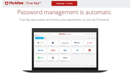 True Key - Best Password Manager for Android