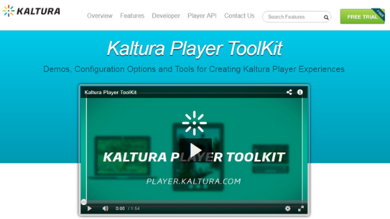Kaltura Player - JW Player Alternative