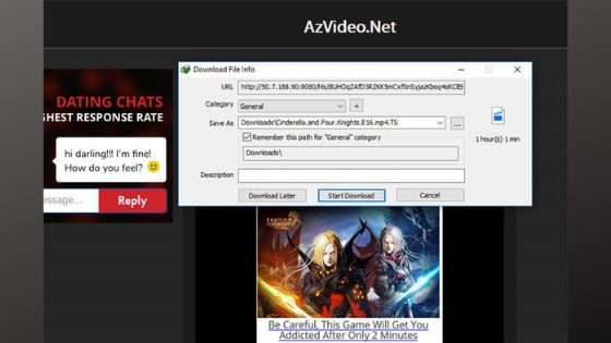 Save Video Internet Download Manger