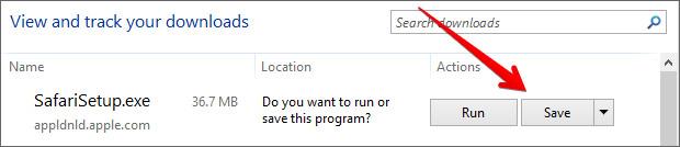 download safari for Windows