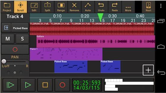 Audio Evolution Mobile Studio - Garageband for Android