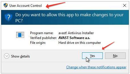 Avast Antivirus Uninstall Windows 7