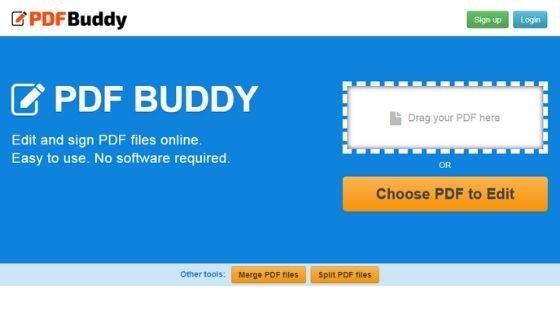PDF Buddy - Free PDF Editor Software
