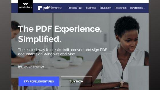PDF Element - Free PDF Editor Software