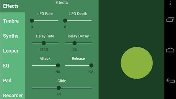 Saucillator - Garageband for Android