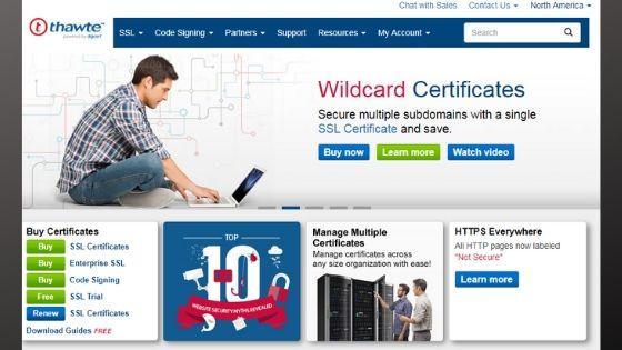 Thawte SSL Certificate
