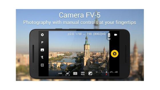 Camera FV-5 Pro Android App
