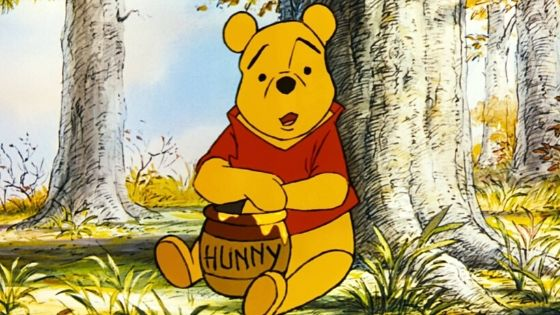 Famous Cartoon Character Winnie The Pooh