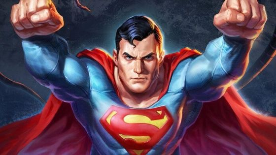 famous cartoon character super man