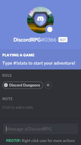 Discord Dungeons
