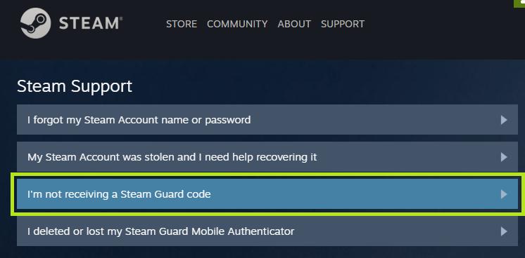 steam guard code